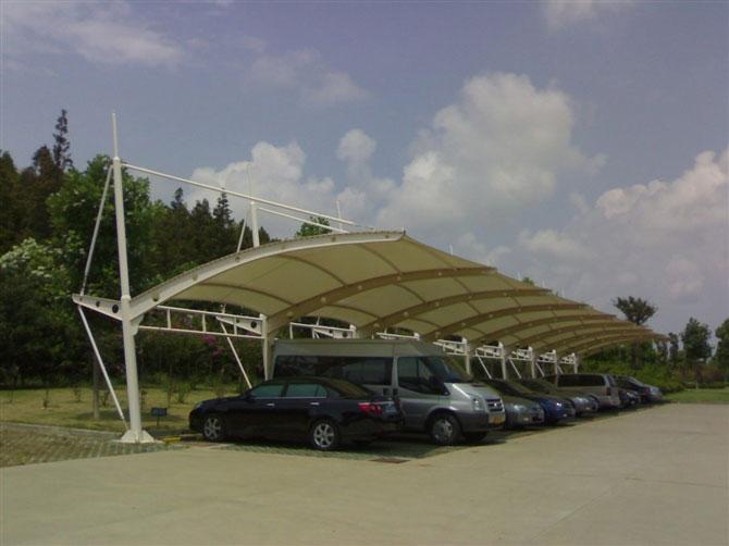 丽水工业区停车棚